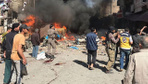 Suriye'nin İdlib kentinde patlama! Çok sayıda ölü var