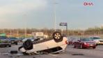 Polise ihbar ettiği alkollü sürücünün kaza anını kaydetti
