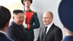 İlk kez bir araya geldiler! Kritik zirvede Putin ve Kim'den işbirliği mesajı