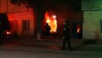 Ailesiyle tartıştı evini yaktı