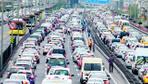 6 bin 592 araç trafikten men edildi
