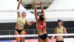 Aydın'da düzenlenen Plaj voleybolu turnuvasında Polonya şampiyon!