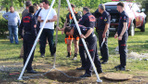 Trabzon'da kanalizasyon çukuruna düşen işçi kayboldu