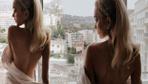 Bu pozlar olay oldu! Victoria's Secret meleğinden bornozlu paylaşım!