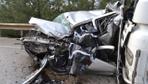 Bilecik'te feci kaza 2 TIR'ın arasında kaldı