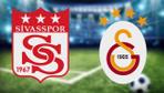 Sivasspor Galatasaray maçı CANLI YAYIN