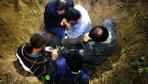 Kaçak define avcısı yakalandığı anda öyle bir şey yaptı ki Polis şaşkına döndü