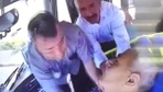 Şoför kalp krizi geçirince bekçi faciayı önledi