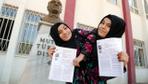Kahramanmaraş'ta siyam ikizleri YKS sınavına girdi  bu bir ilk