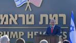 Golan'da 'Ramat Trump' adı verilen yerleşim biriminin temeli atıldı