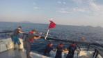 Bodrum'da tekne battı! Facianın eşiğinden dönüldü