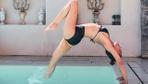 Zeynep Tokuş yoga eğitmeni oldu