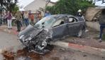 İnegöl-Alanyurt yolunda feci kaza: 5 yaralı