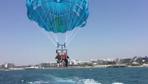 Ölmeden saniyeler önce çektirdi! Filistinli turist 50 metreden suya çakıldı