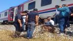 Manisa'da raylardaki koyununu almak isteyen çobana tren çarptı