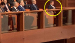 Ahmet Davutoğlu 15 Temmuz Özel Oturumunu tek başına böyle izledi!