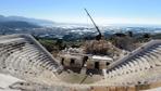 Antalya'da tarihi antik kente fırtına vurdu! Skandal restorasyon hatası ortaya çıktı