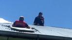 Kars'ta intihar etmek isteyen kız çocuğu itfaiye eri tarafından böyle kurtarıldı