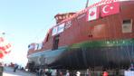 """""""Ocean Choise International"""" firması için inşa edilen """"Calvert"""" isimli yüzen fabrika denize indi"""