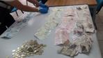 Dilencinin üzerinden 5500 Dolar 3800TL ve 31 bin Suriye Lirası çıktı