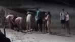 Tayland'da 5 kadın ve bir erkek sahilde çırılçıplak yakalandı görenler polisi aradı