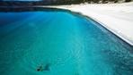 Burdur'daki Salda Gölü'ne ziyaretçi akını! Günlük sayı 30 bine ulaşıyor