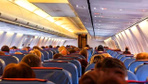 Uçakta bulunan cenin polisi harekete geçirdi!