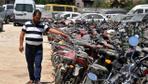 Reyhanlı'da, yediemin otoparkında 6 milyon liralık servet çürüyor