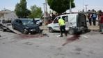 Ağrı'da feci kaza Otomobil, hafif ticari araçla çarpıştı: 1 ölü 6 yaralı