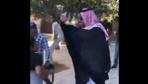 Suudi gazeteciye Mescid-i Aksa'da tükürüklü tepki