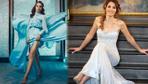 Nur Fettahoğlu'nun göbek dekolteli elbisesi olay oldu! 'Ters giymiş'