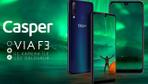 Casper'ın yeni telefonu VIA F3 satışa çıktı işte fiyatı ve özellikleri