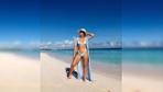 Khloe Kardashian'ın bikinili paylaşımları yürek hoplattı