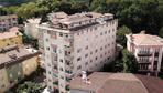Çökme tehlikesindeki 9 katlı binaya tahliye