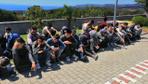 Çanakkale'den Midilli Adası'na kaçmaya hazırlanan 80 göçmen yakalandı