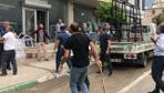 Bursa'da park yeri yüzünden esnaf birbirine girdi