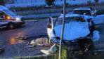Bursa'da ters yöne giren cipin çarptığı otomobil sürücüsü yaşamını yitirdi!