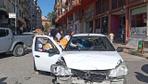 İslahiye'de iki otomobil çarpıştı: 1 yaralı