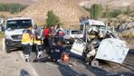 Aksaray'da dehşet veren kaza ortalık savaş alanına döndü! Çok sayıda ölü var