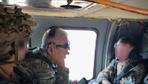 Bakanlık fotoğraf paylaştı: Güvenli Bölge'de ilk uçuş