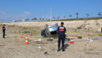 Aksaray'da akraba ziyareti dönüşünde feci kaza : 1 ölü, 3 yaralı