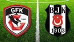 Gazişehir Gaziantep Beşiktaş maçı özet ve golleri