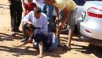 Muğla'da güreş alanından kaçan 2 boğa kadın seyirciyi hastanelik etti