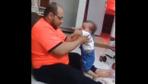İnsanı çileden çıkaran baba şiddeti!