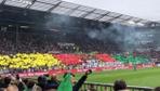 Enver Cenk Şahin'in takımı St. Pauli'nin maçında terör örgütüne destek