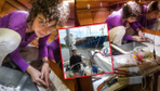 Yeşim Büber ikizleriyle tekne hayatını anlattı 11 yıldır teknede yaşıyor