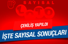 26 Kasım 2016 Sayisal Loto sonucu