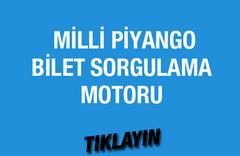 Milli Piyango sorgulama motoru 19 Mart çekilişi