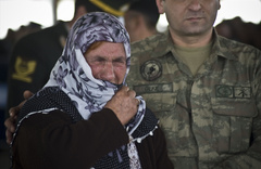 Mardin şehinin cenazesinde gözyaşları sel oldu!