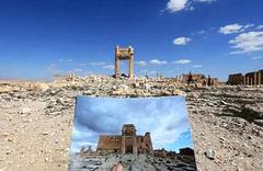 IŞİD tarihi antik tiyatroyu yerle bir etti